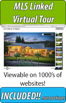 Virtual Tour is included with all Tampa and Clearwater Beach Photography